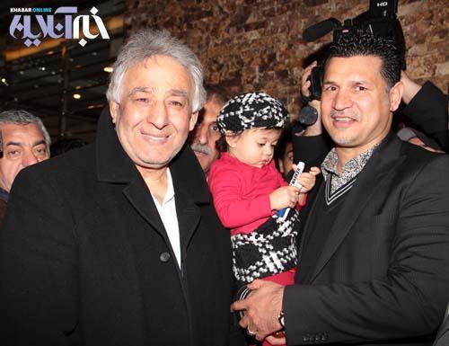 علی دایی، نورا دایی و محمدرضا طالقانی