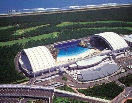 ساگایا، بزرگترین ساحل مصنوعی دنیا